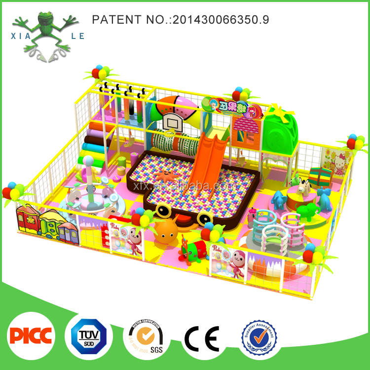 Free design candy theme indoor gym play land indoor play area