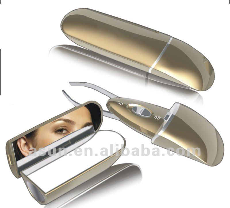 LED Lighted Tweezer with mirror