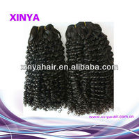 Famous brand factory price 100% virgin mongolian curly hair extension jessica hair