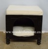 European Style Dog Bed French Style Cat Bed Antique Dog Sofa Classic Pet Bed Wooden Dog House