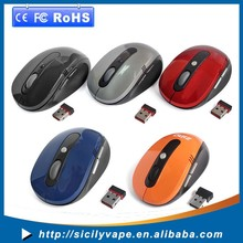 Factory directly cheap 6D 2.4G wireless cordless optical mouse