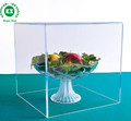 Supermarket crystal clear acrylic food storage box