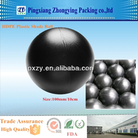 HDPE Black Plastic Shade Ball for prevent water evaporation