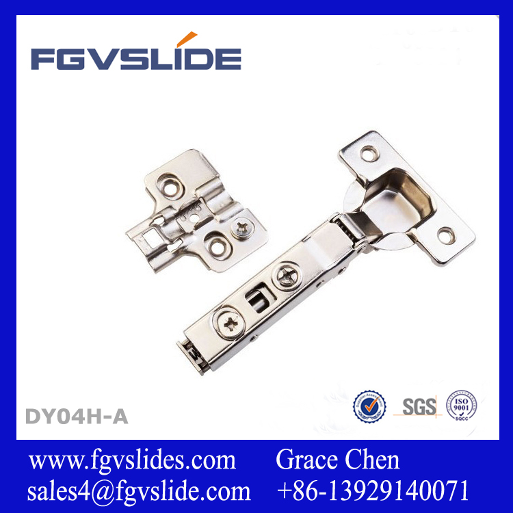 Hardware hydraulic concealed two way cabinet hinges for furniture and kitchen
