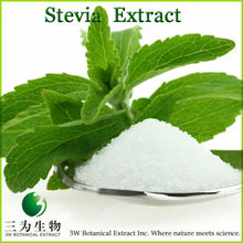 100% Pure Stevia from 3W Botanical Producer in China