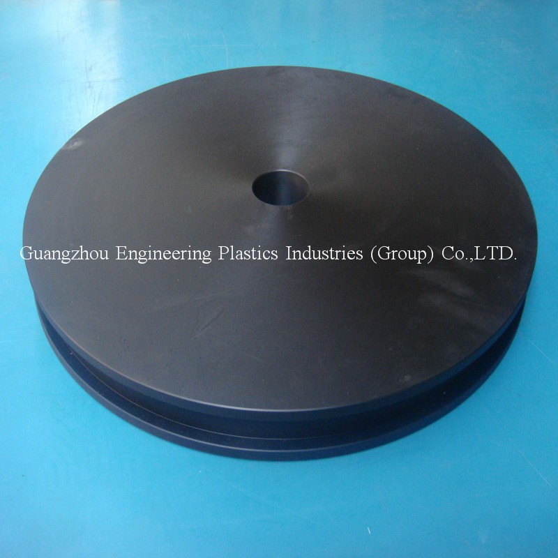Plastic Pulleys For Sale : Factory wholesale machined black large plastic pulley wheel nylon for sale buy