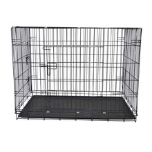 "Best pet 42"" large folding wire pet cage for dog cat house metal dog crate"