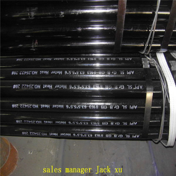 seamless steel carbon pipe Material of pipe: carbon steel conforming to ASTM A36. c) Construction: Welded