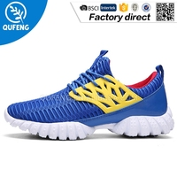 Colorful cheap outdoor hiking sport running brand shoes Men sport shoe
