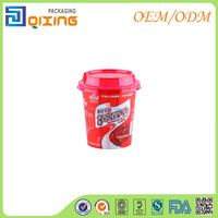 4oz Yogurt container with flat lid