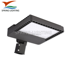 DLC listed LED garage light 300W 150w led shoebox 90-277V parking shoe box 347V UL light pole arm mount
