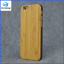 Bamboo material high quality phone cases for iPhone6, western cell phone cases
