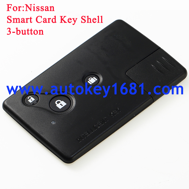 smart car shell 3button for nisan remote car key case cover
