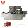 Envelope Type 3D Packing Small Chocolate Perfume Molasses Box Cellophane Overwrapping Wrapping Machine For Box