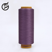 top 10 famous brand factory supplier recycle spun polyester viscose yarn dyed