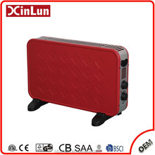 Freestanding Carry Handles Wall Mounted Electric Infrared Convector Heater With Timer And Turbo Fan