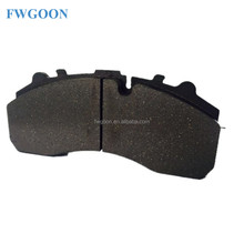 2017 ISO/TS16949 Top Quality WVA29087 29108 semi-metallic front truck China factory manufacturers Brake Pad For BUS