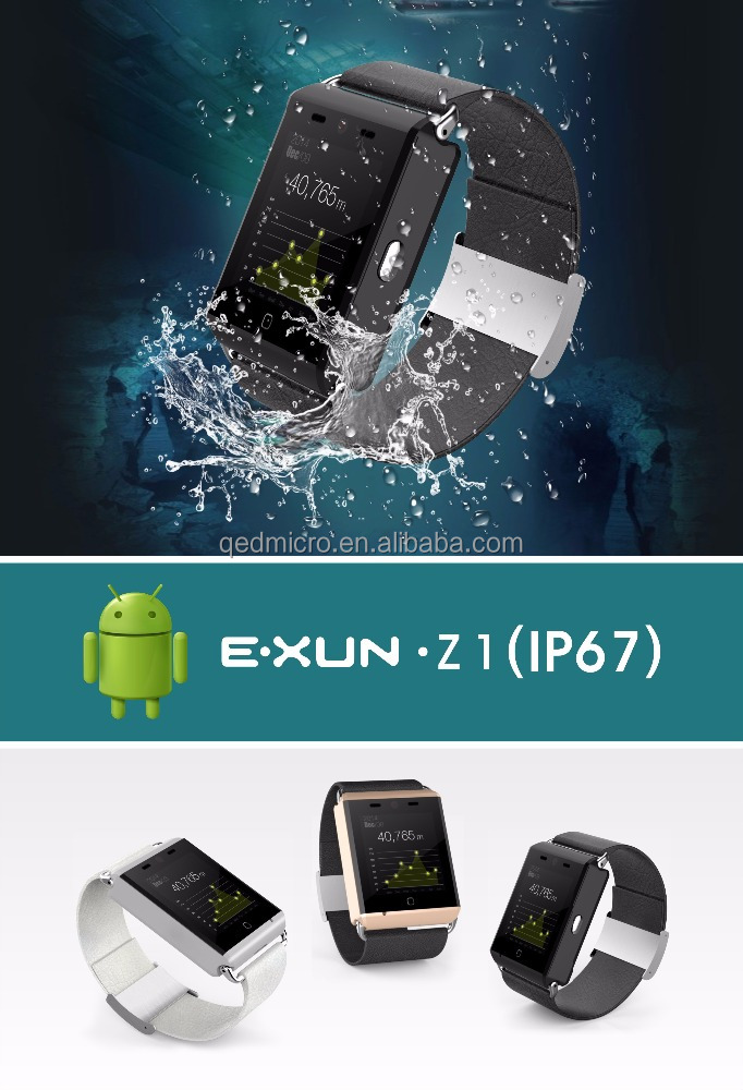 "1.54"" 3G SIM Card Waterproof Smart Watch"