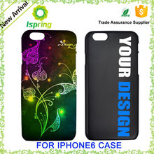 Customized phone cover for iPhone 6s, printable mobile case for iPhone