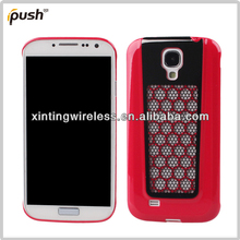 Colours Metal mesh+ PC Hard Back Case For Samsung Galaxy S4 i9500 case
