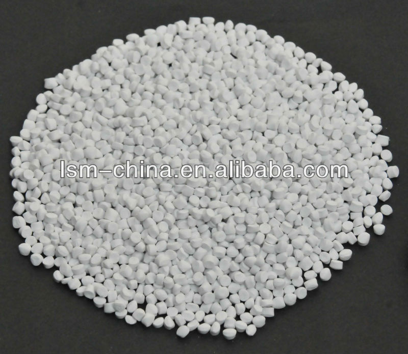 bagomatic bladder plastic pellets of ABS masterbatch white