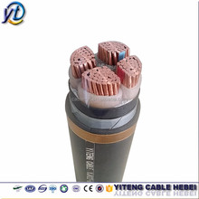 LV XLPE insulated copper or aluminium conductor PVC sheath 4 core power cable 25mm electric cable specifications