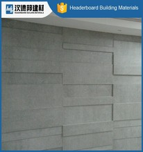 Newest factory sale long lasting medium density wall panel fiber cement board for sale