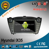 "2 din 7"" Android 4.2 1024x600 display, capacitive touchscreen, car dvd with GPS,BT,WIFI,3G/4G for IX35"