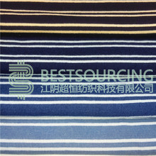Factory supply Alibaba textiles indigo yarn dyed knit denim fabric with cheapest price
