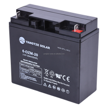 yangtze sealed lead acid battery 12v 20ah