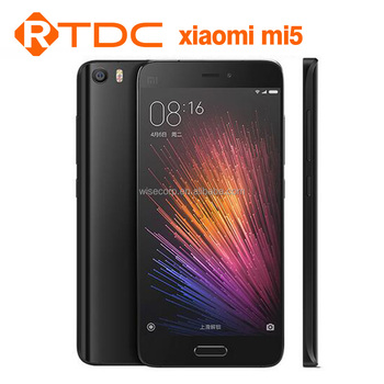 New Arrival Original Xiaomi Mi5 Mobile Phone 5.15 Inch Snapdragon 820 CPU 3GB Ram 64GB Rom 4G Unlocked