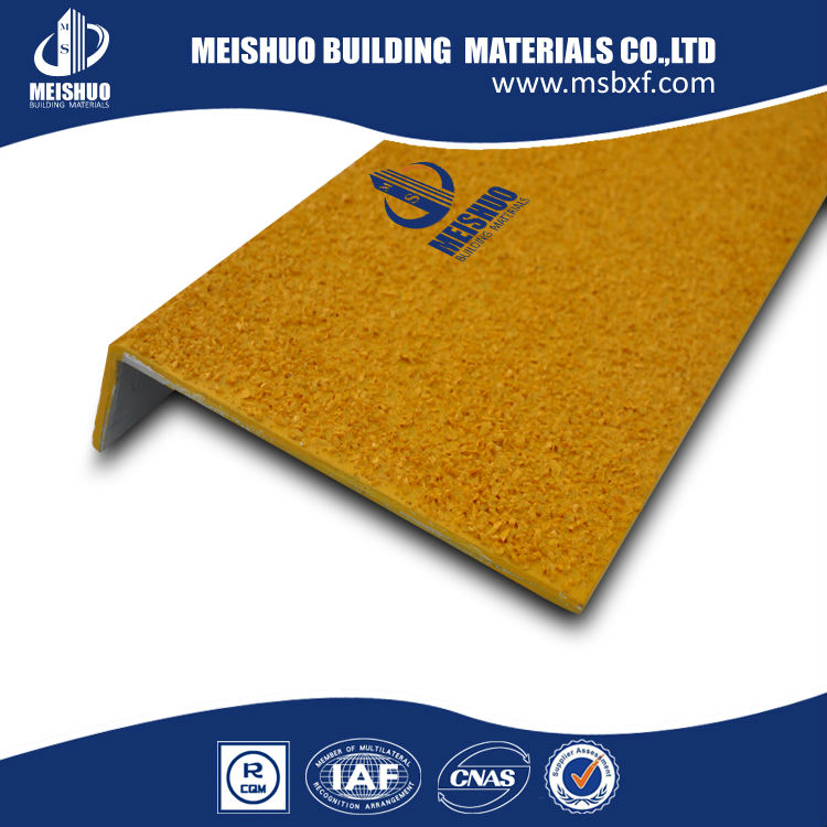 Anti Slip Galvanized Steel Stair Cover, Steel Stair Tread