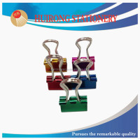 size of different color file clips metal color binder clip