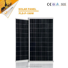 A grade china suplier high quality 150w polycrystalline solar panel price