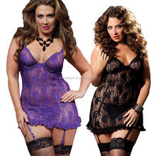 Factory Price Sexy Underwear Mature Lingerie Babydoll For Women