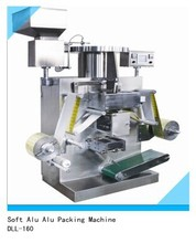 DLL-160 Automatic Soft Alu Alu Packing Machine For Tablet Packing
