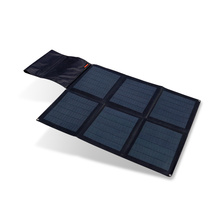 Hanergy 48W solar notebook charger with advanced solar cells