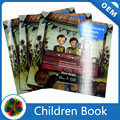 English colorful children book printing with UV coated