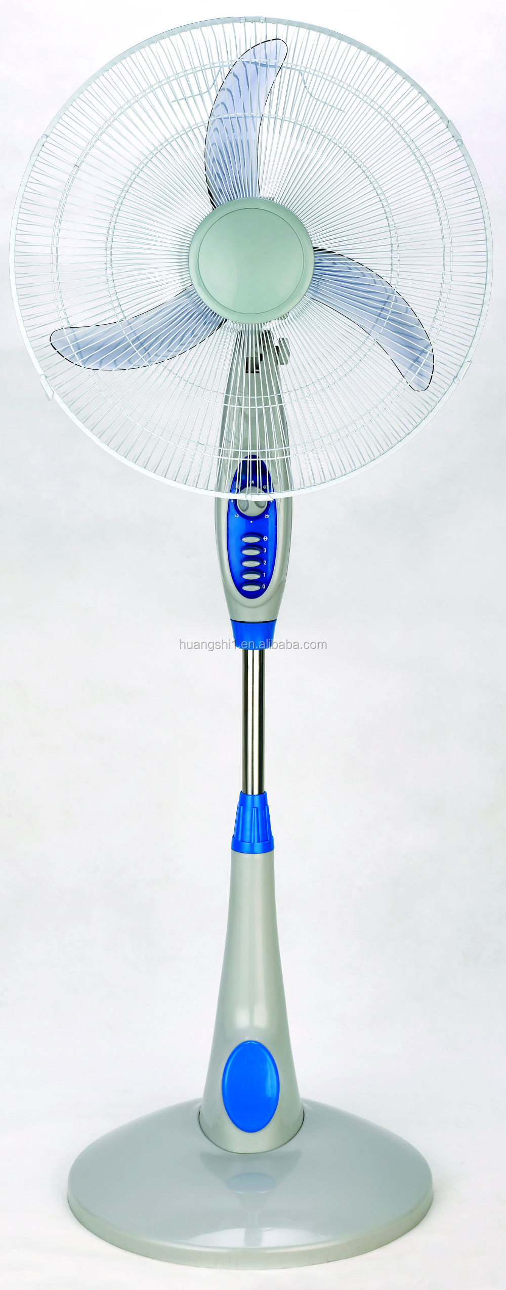 Plastic metal Material and Floor Installation 18 inch Pedestal Oscillating Rotating Standing fan