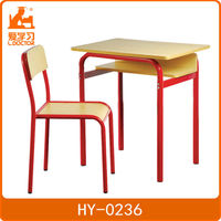 Metal smart table with chair for student