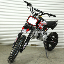 CE Kick Start Motorcycle 125CC Dirt Bike with 17 14 inch Offroad Big Wheel