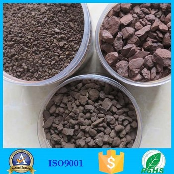 Manganese Filter Media manganese sand for remove groundwater iron