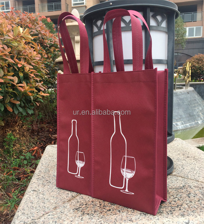 Professional non woven recycled wine bags bulk