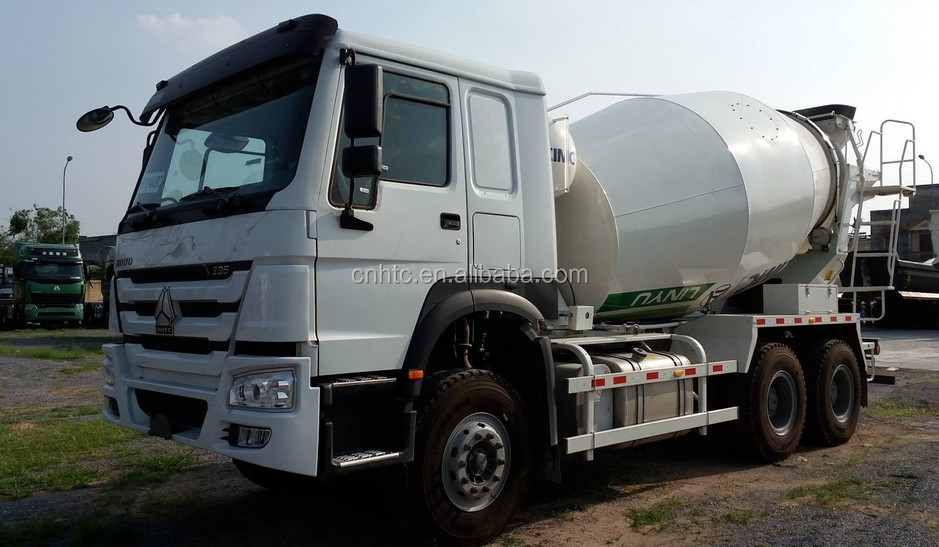 HOWO 6x4 Self Loading Concrete Cement Mixer Truck