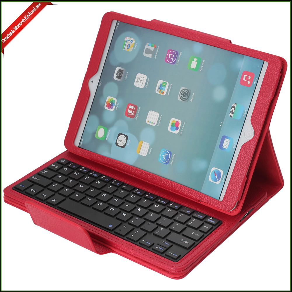 High quality leather covers for ipad case , for ipad air case