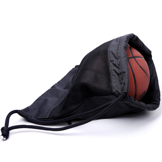 420D ripstop nylon customized design basketball drawstring bag gym sport backpack