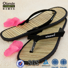 Wholesale Moisture Wicking Men Straw Flip Flop