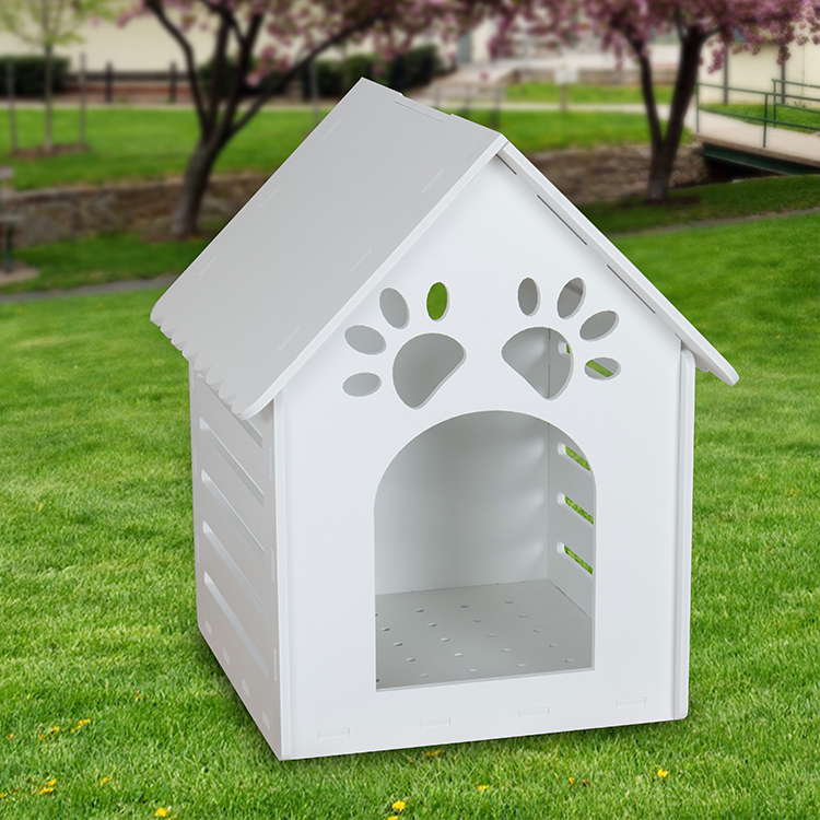Factory price dog house PVC removable pet house kennel