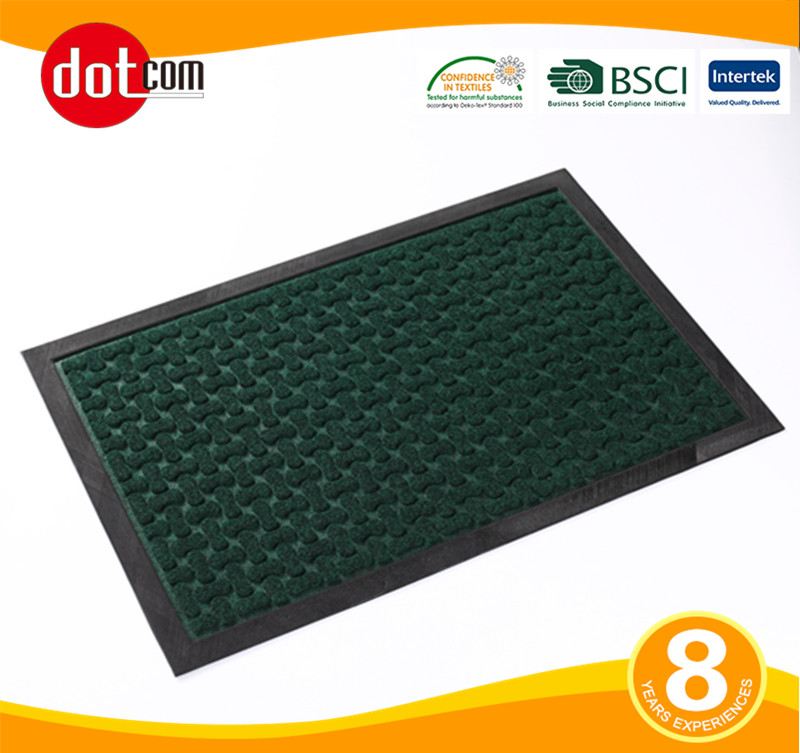 Used Green Outdoor Driveway Recycled Rubber Mats For Sale