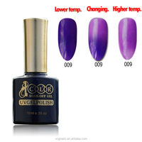OEM wholesale soak off Temperature Change Gel Polish with free samples